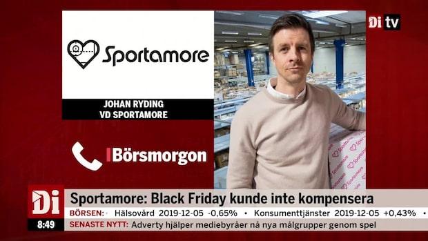 """Sportamore:s vd - """"vi kommer komma tillbaka"""""""
