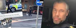 Polisen Calle, 46, fångades på film – blev världskändis