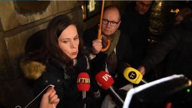 """Sara Danius """"Ledamöter har utsatts för oönskad intimitet"""""""