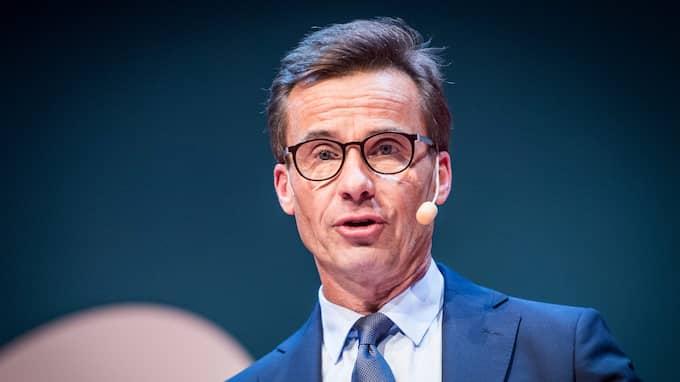 Moderaternas partiledare Ulf Kristersson. Foto: PELLE T NILSSON / STELLA PICTURES