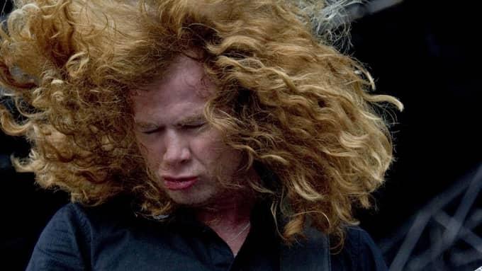 Dave Mustaine är en av metal-genrens största legendarer. Foto: ADAM IHSE / EXPONERA / SCANPIX SWEDEN