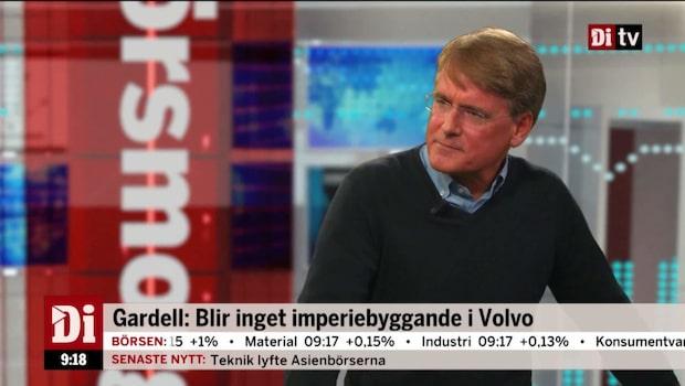 """Gardell om Volvo: """"Styrelsen är kompetent och rationell"""""""