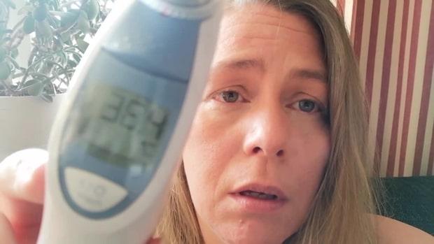 Åsa har haft feber i över 90 dagar