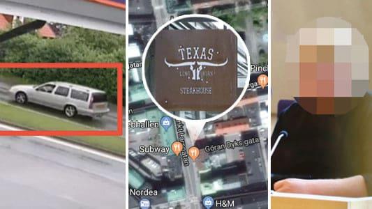 Misstänkte Mantorp-mördaren åt på Texas Longhorn efter dådet