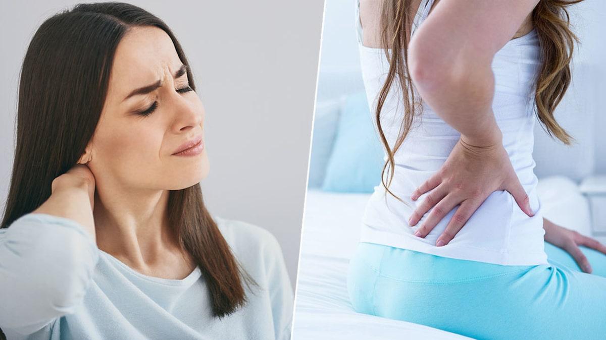 ont på sidorna av magen