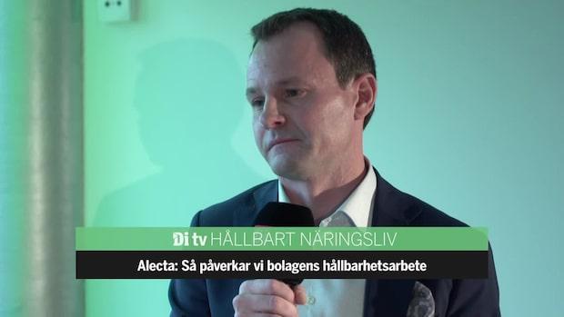 Alectas mål: aktieportföljen ska stödja tvågradersmålet