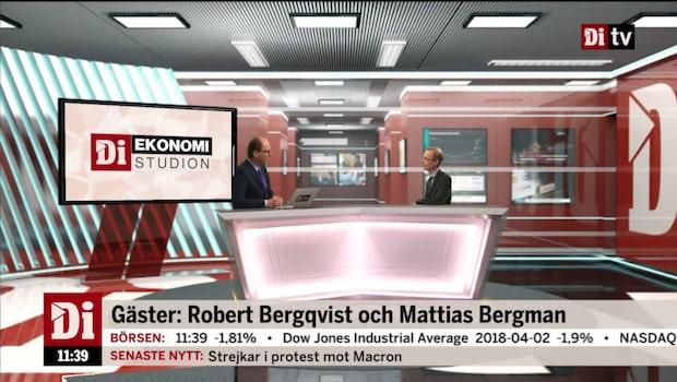 Ekonomistudion – 3 april 2018