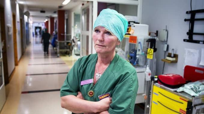 Marina Henriksson, vårdenhetschef Mölndals sjukhus. – Jag är lycklig lottad över att få vara med om ett sådant här försök, sa hon i samband med att försöket inleddes. Foto: Anders Ylander