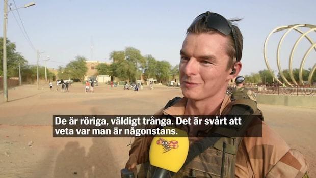 """Henrik: """"Största utmaningen är värmen, den är påtaglig hela tiden"""""""