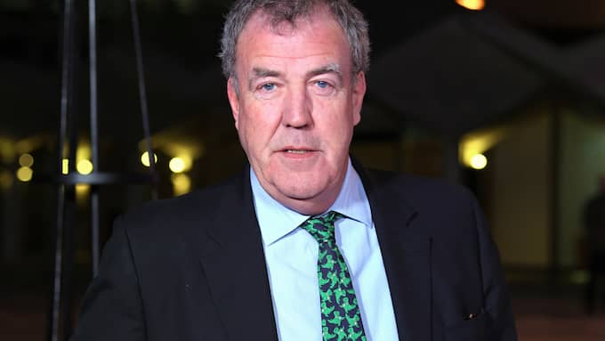 Jeremy Clarkson blev sjuk under sin semester. Foto: DAVID FISHER/REX/SHUTTERSTOCK / DAVID FISHER/REX/SHUTTERSTOCK/IB REX FEATURES