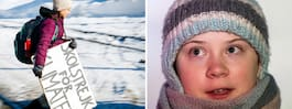 """Greta Thunberg på plats i Davos: """"Skandalöst"""""""
