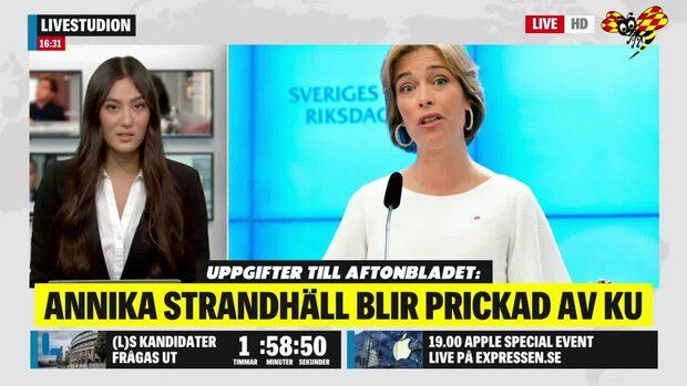 Annika Strandhäll prickas av KU – efter petningen