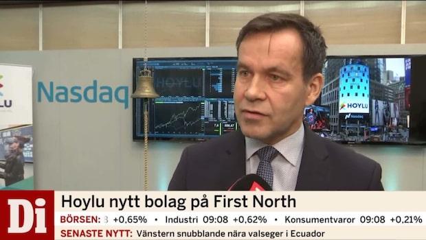 Hoylu är nytt bolag på First North