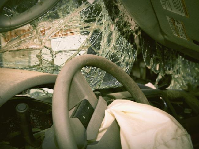 5 miljoner bilar rullar omkring med krockkuddar som riskerar att inte lösa ut. Bilen på bilden har inte samband med Continentals krockkuddar.