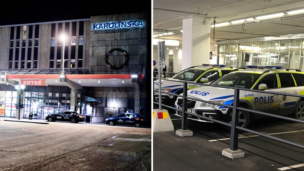 Stulen bebis vid BB på Huddinge sjukhus har återfunnits