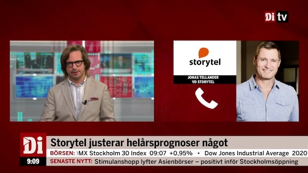 Minskad förlust och ökande omsättning för Storytel