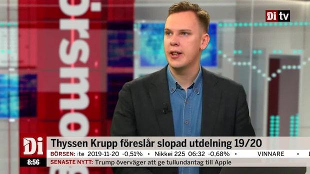 """Wendel: """"Tufft för Gardell-bolaget"""""""