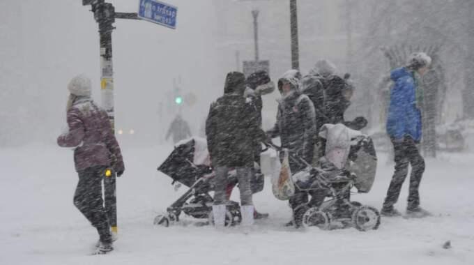 Den här vintern spås bli extremare än på många år – enligt brittiska experter. Foto: Stefan Söderström