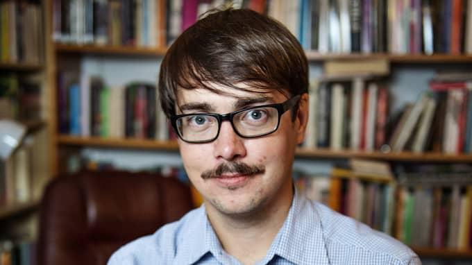 Rasmus Fleischer är forskare i ekonomisk historia och medarbetare på Expressens kultursida. Foto: EMIL NORDIN