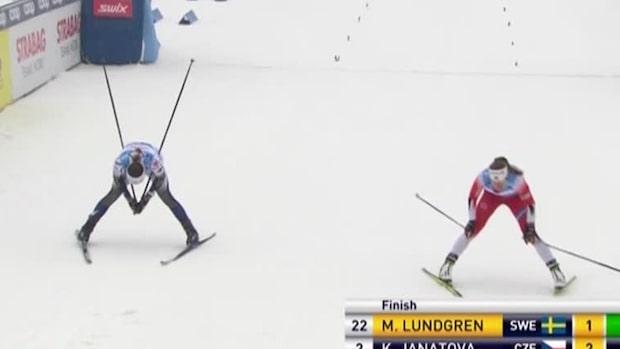 Johaug krossade alla – Moa Lundgren bästa svenska