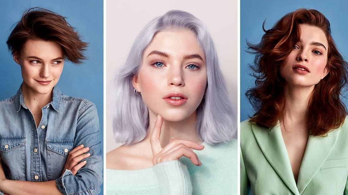 frisyr mellanlångt tunt hår