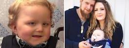 Sjuke Ludwig, 3, tvingas byta  skola – för att han inte kan gå