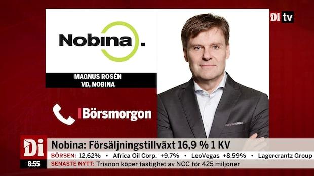 """Nobina:s vd: """"Vi är nöjda med kvartalet"""""""
