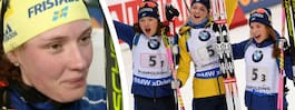Nya jättesuccén: Sverige på pallen