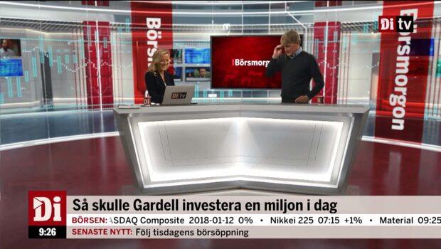 """Christer Gardell om bitcoin: """"Alla kommer ångra att de sitter på tåget"""""""