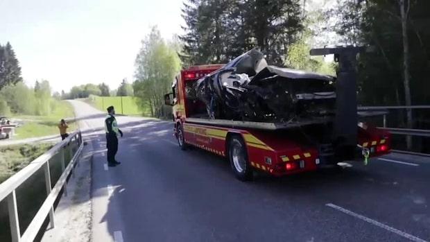 Fyra unga döda efter svåra trafikolyckan utanför Sundsvall