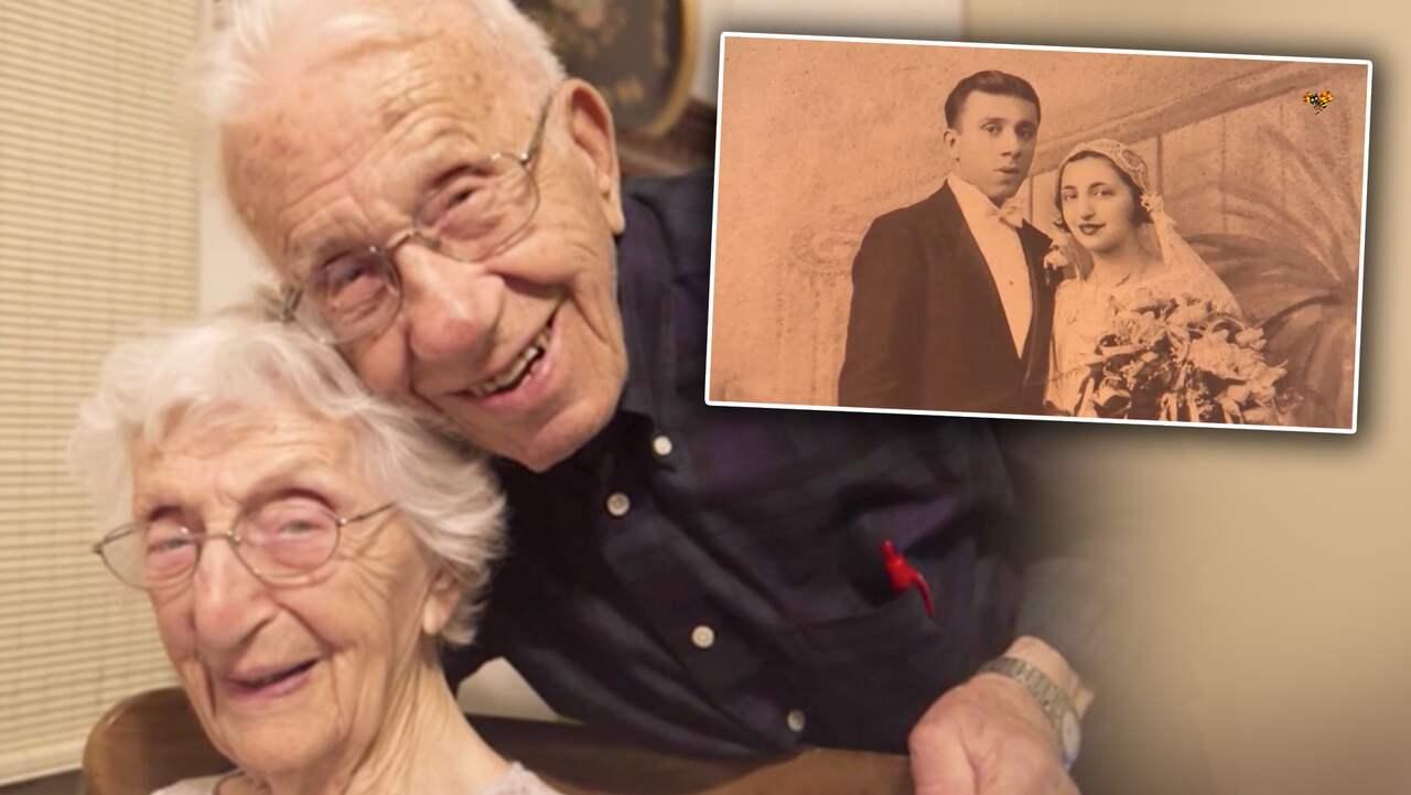 Paret gifte sig 85 år