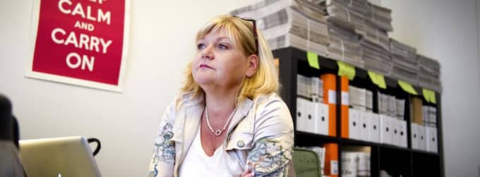 I OPPOSITION. Ingrid Carlqvist har grundat den islamfientliga tidningen Dispatch International. . Foto: DANIEL NILSSON Foto: Daniel Nilsson