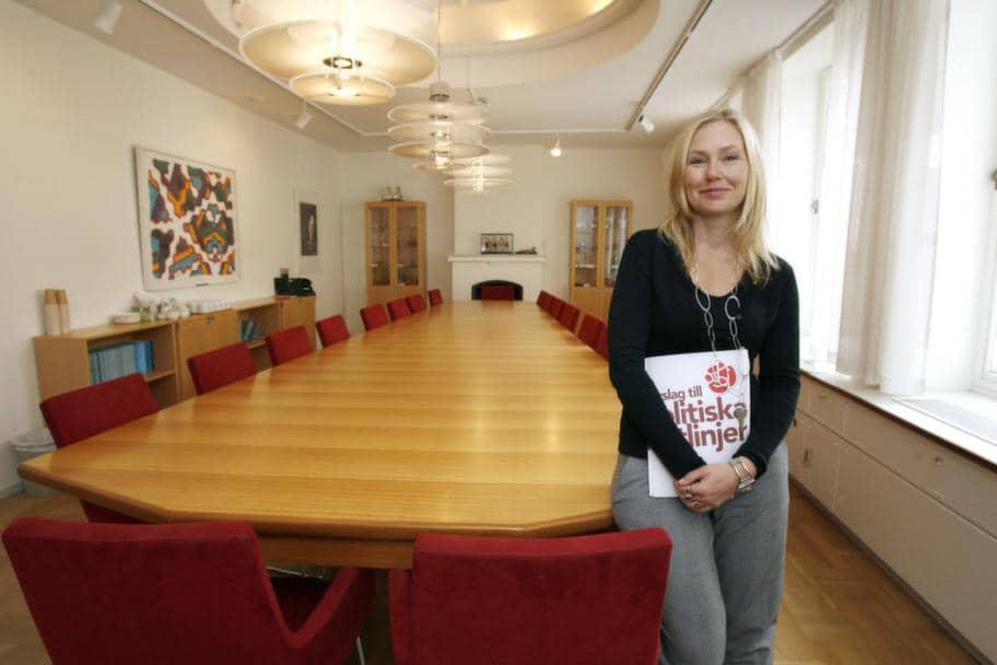 Anna Johansson (S) anser att göteborgarna fick tillräckligt med information. Foto: Jan Wiriden