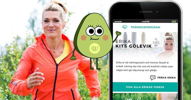 Erika Kits Gölevik, träningscoach i nya hälsoappen Wellie, ger dig bästa tipsen för att komma i gång med träningen och ett hälsosammare liv.