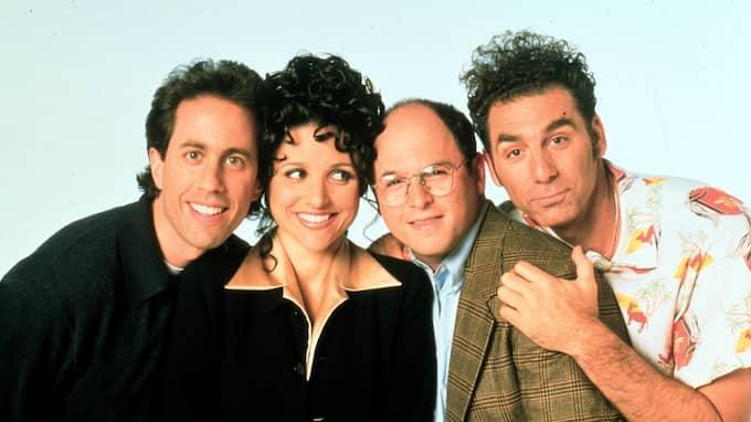 """""""Seinfeld"""" kan vara tillbaka – på riktigt. Foto: / SVT"""