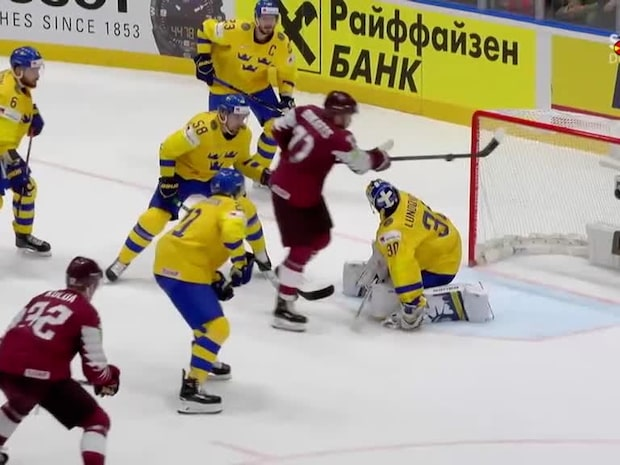 Höjdpunkter: Sverige-Lettland
