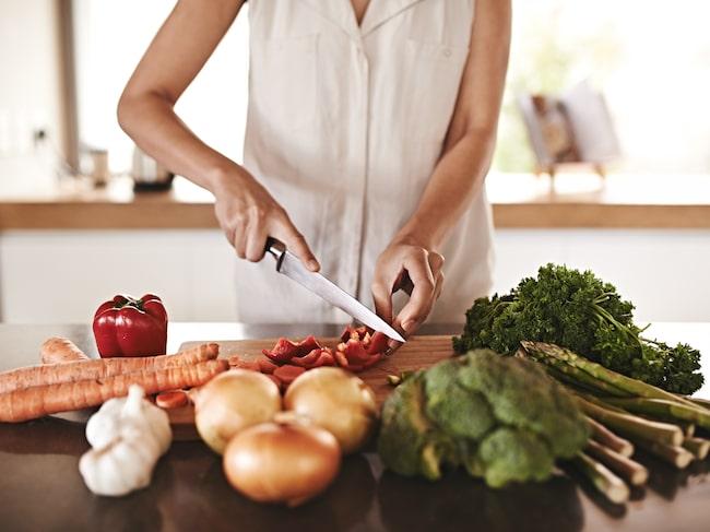 """Anne-Sofie: """"Finns det någon skillnad i mängden gifter som finns i grönsakerna och skiljer sig innehållet av vitaminer och mineraler åt?"""""""