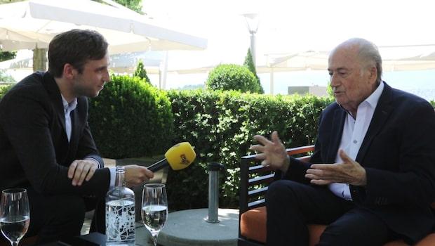 Noa Bachner möter Sepp Blatter - exklusiv intervju