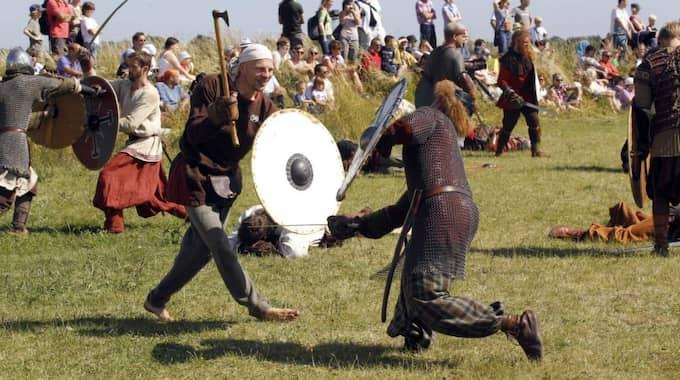 Vikingastrid. Foto: Ronny Johannesson