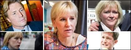 Margot Wallström, är enligt Expressens och Demoskops undersökning den hetaste kandidaten att ta över efter Sahlin.