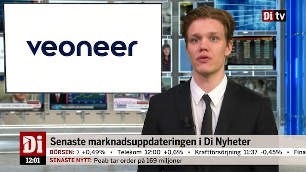 Di Nyheter – Veoneer rusar 10%