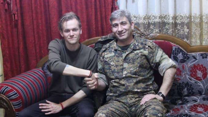 Hjälpen. Kurdiska förhandlare hjälpte Joakim Medin att bli frisläppt. Foto: Massoud Mohammed