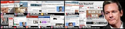 Världsnyhet i går. Tidningar världen över har under gårdagen rapporterat om Expressens avslöjande att Wikileaks grundare Julian Assange anhållits för våldtäkt i Sverige. Under lördagen lyfte dock åklagaren våldtäktsanklagelserna mot honom, men Assange fortsätter att skapa rubriker världen över - denna gång som privatperson.