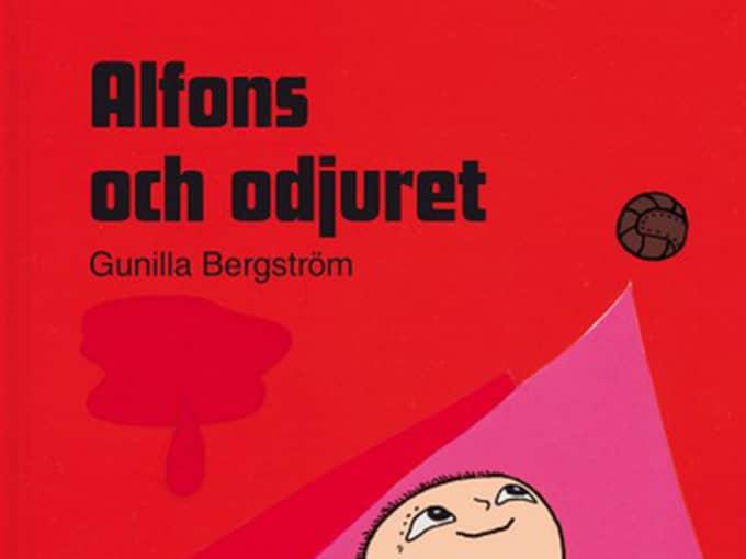 """""""Alfons och odjuret"""" gav en liten pojke mardrömmar. Nu har föräldrarna anmält hans förskola till Skolinspektionen. Foto: Rabén & Sjögren"""