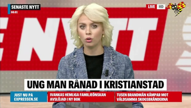 Ung man rånad i Kristianstad