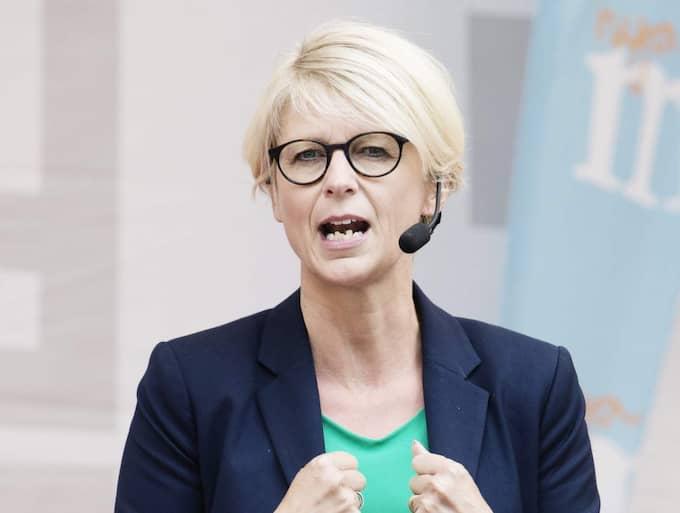 Elisabeth Svantesson, arbetsmarknadspolitisk talesperson (M). Foto: Anna-Karin Nilsson