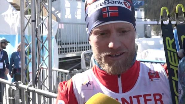 """Johnsrud Sundby: """"Jag var inte stark nog"""""""