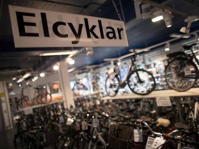 Elcykeln blev årets julklapp förra året.