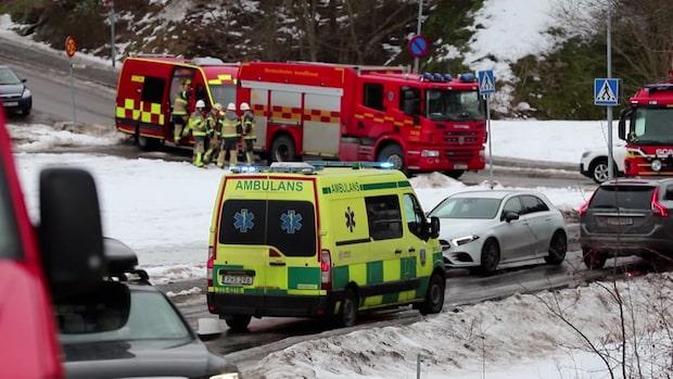 """Barn akut sjuka på skola på Lidingö: """"Oro bland föräldrar"""""""