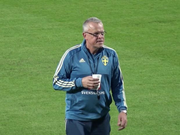 Janne Andersson om året som gick